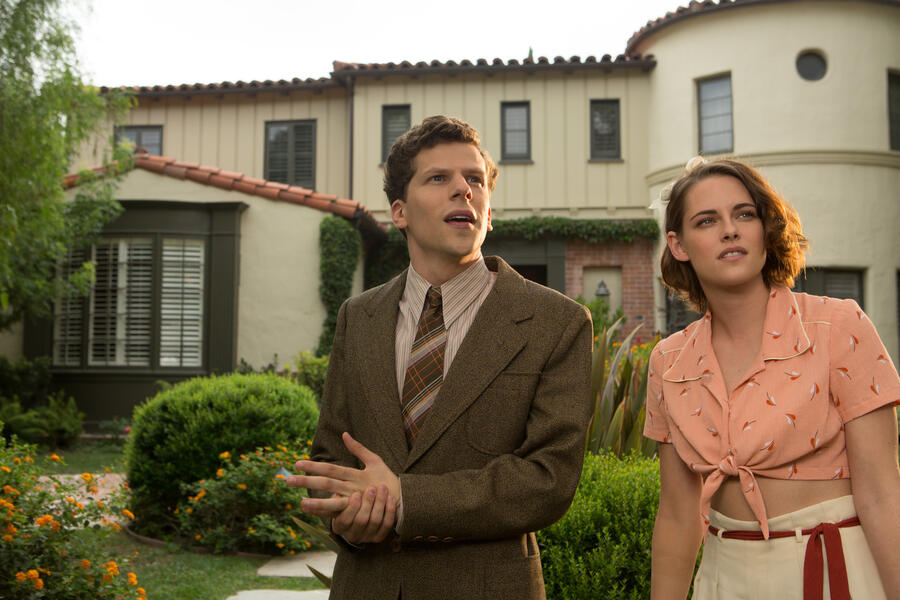 Café Society mit Kristen Stewart und Jesse Eisenberg