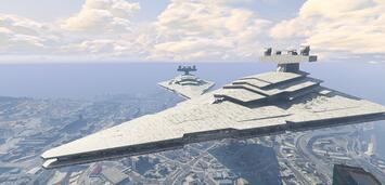 Bild zu:  Sternenzerstörer in GTA V