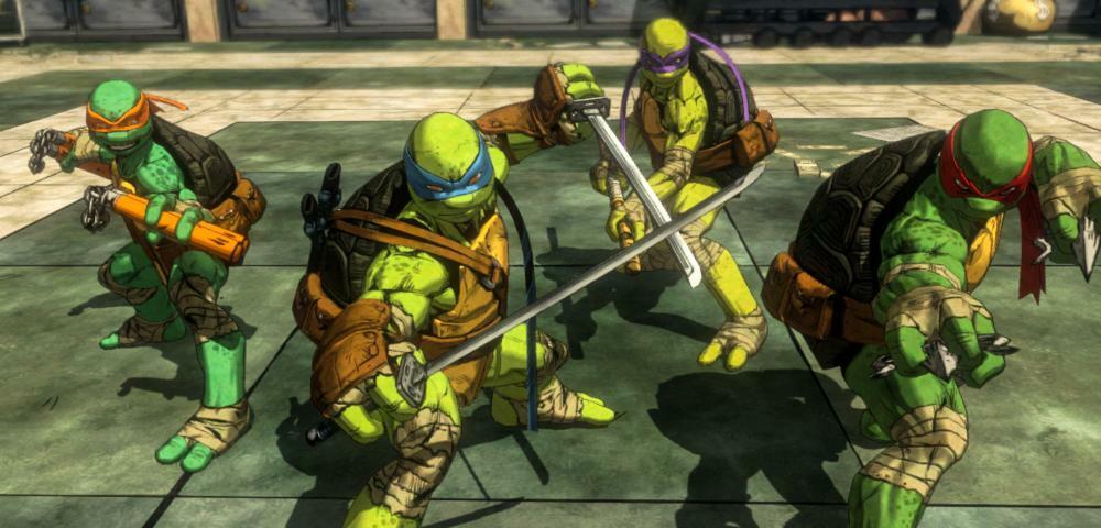 Das neue Turtles-Spiel ist da & es sieht tatsächlich gut aus