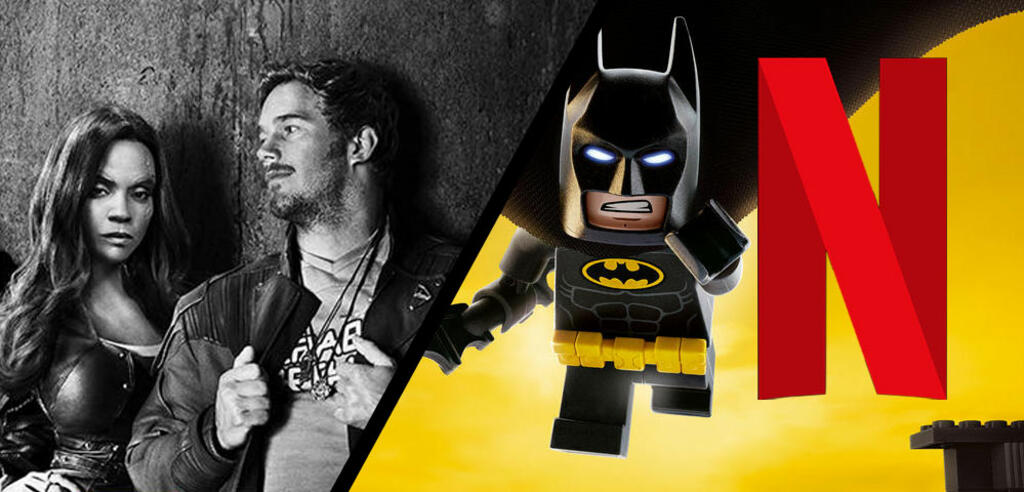 Die Guardians und Lego Batman warten auf ihren Einsatz