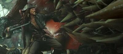 Mit dem Kraken hatte Jack ganz schön zu kämpfen