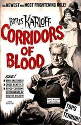 Corridors of Blood - Poster
