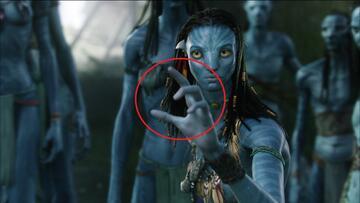 4 Finger bei Neytiri