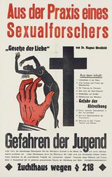 Aus der Mappe eines Sexualforschers - Poster