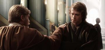 Obi-Wan Kenobi und Anakin Skywalker