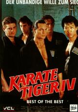 Karate Tiger IV - Best of the Best - Poster