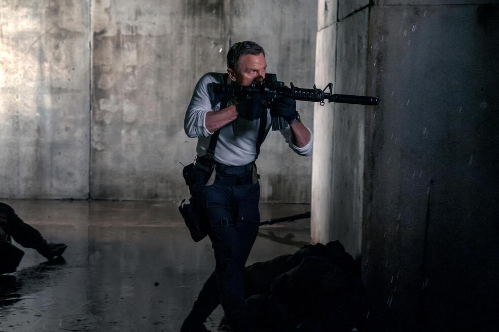 James Bond 007 - Keine Zeit zu sterben mit Daniel Craig
