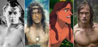 Bild zu:  Johnny Weissmuller, Christopher Lambert, Disneys Zeichentrickfigur undAlexander Skarsgård als Tarzan
