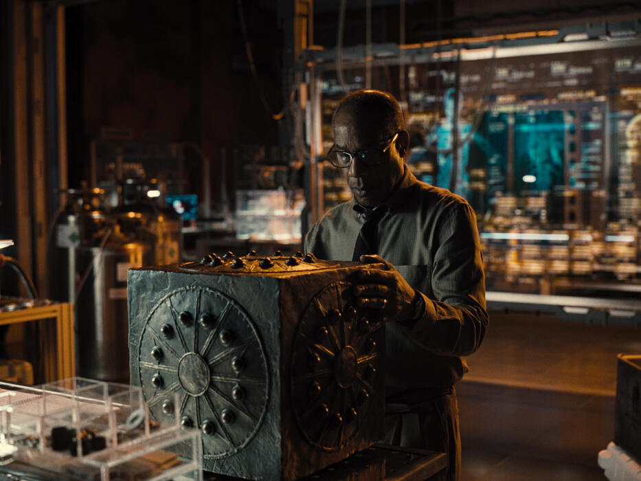 Zack Snyder's Justice League mit Joe Morton
