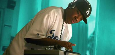 Corey Hawkins als Dr. Dre inStraight Outta Compton