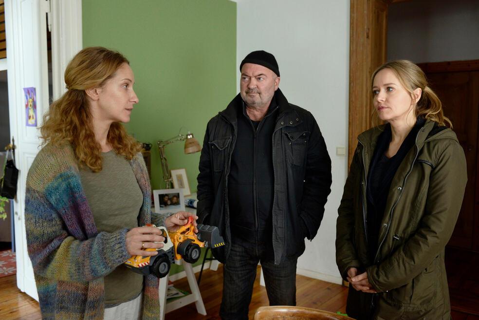 Ein starkes Team: Tödliche Seilschaften mit Chiara Schoras, Stefanie Stappenbeck und Florian Martens