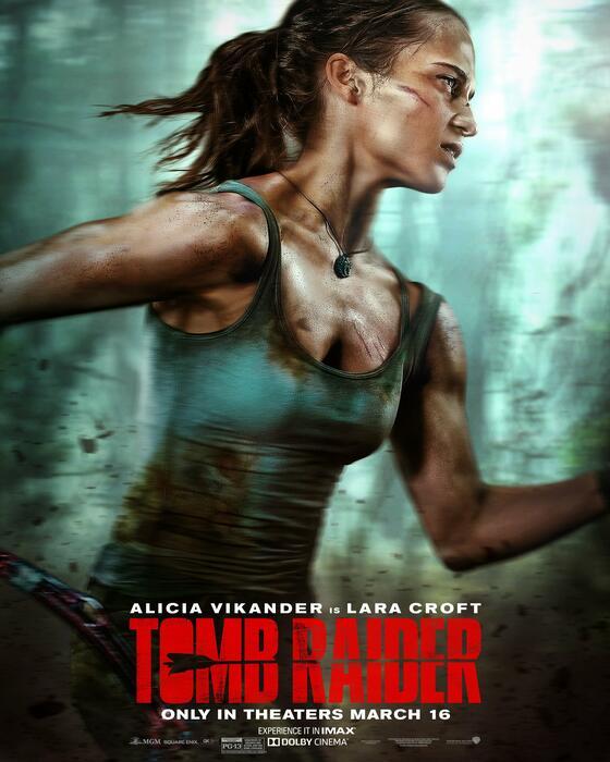 Tomb Raider mit Alicia Vikander