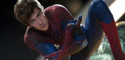 Andrew Garfield als The Amazing Spider-Man