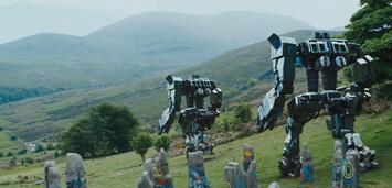 Bild zu:  Roboter in den schottischen Highlands