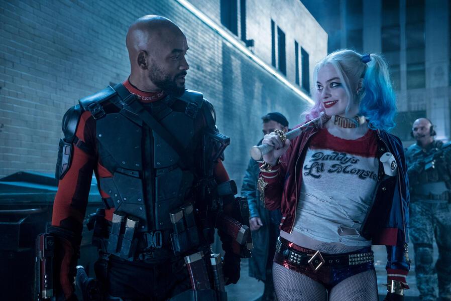 Suicide Squad mit Will Smith und Margot Robbie