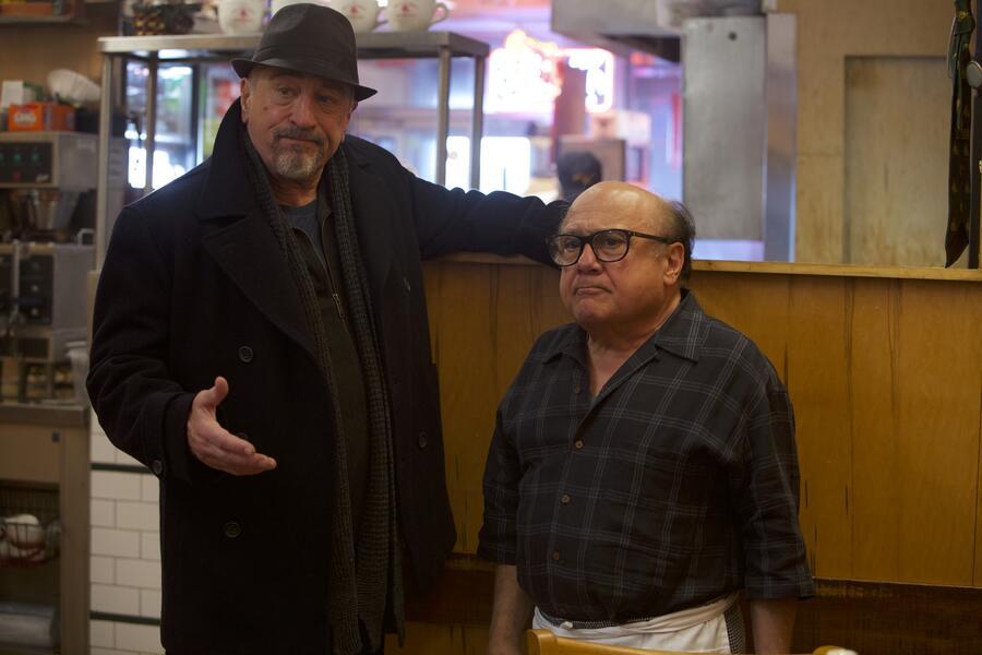 The Comedian mit Robert De Niro und Danny DeVito