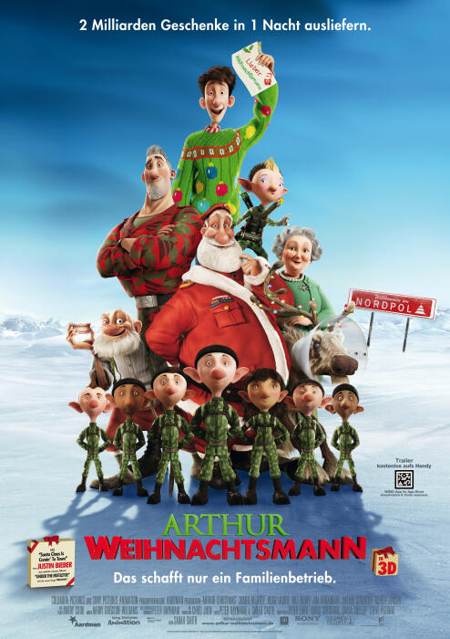Arthur Weihnachtsmann Hauptplakat