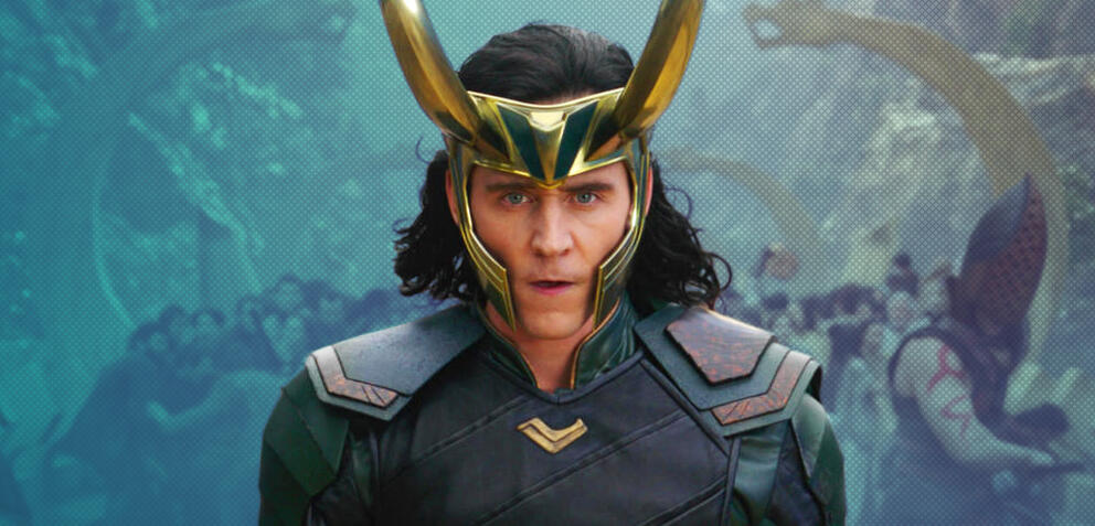 Tom Hiddleston als Loki in Thor 3: Tag der Entscheidung