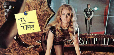 Heute Abend im TV: Jane Fonda als Barbarella