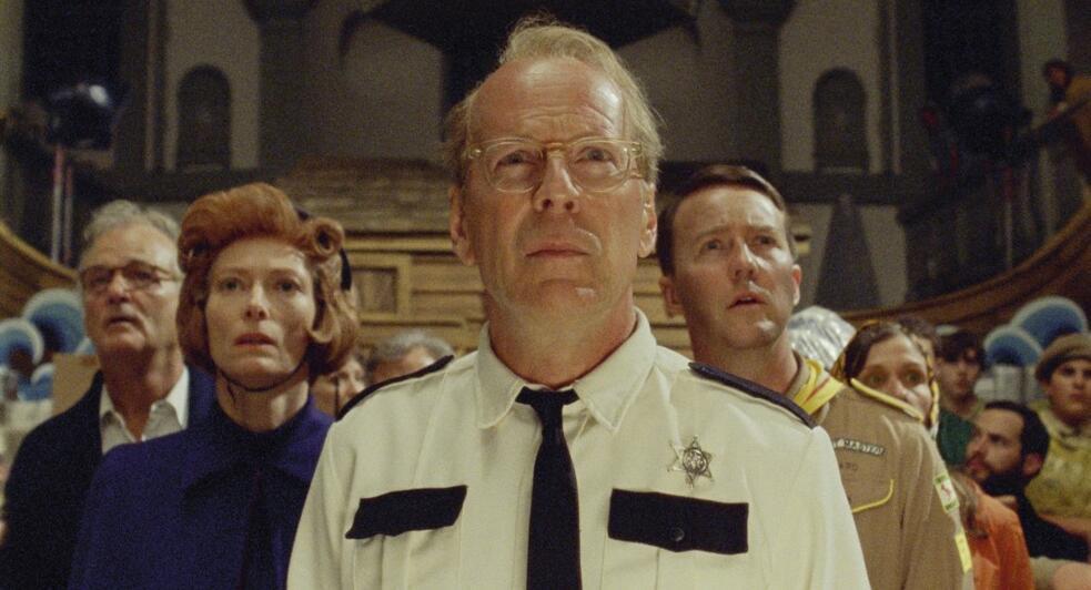 Moonrise Kingdom mit Edward Norton, Bruce Willis, Bill Murray und Tilda Swinton