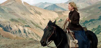 Nina Hoss & Pferd