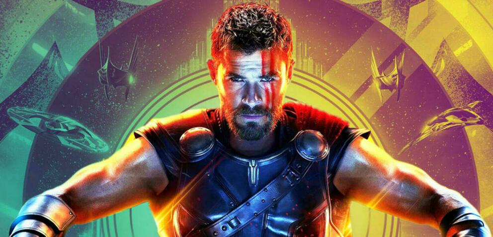 Chris Hemsworth als Thor.