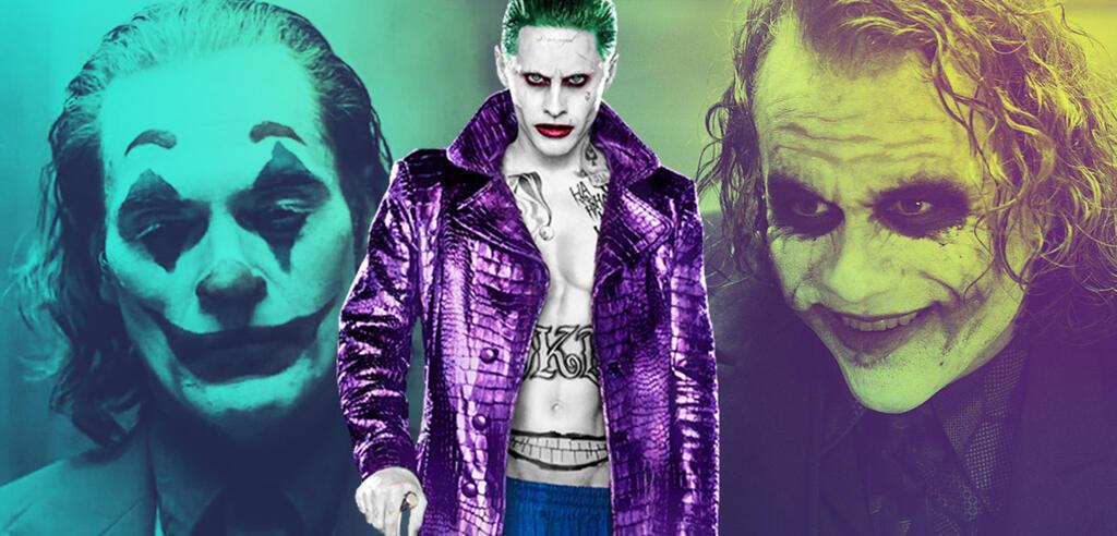 Der Joker in verschiedenen Versionen