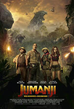 Jumanji - Willkommen im Dschungel Poster