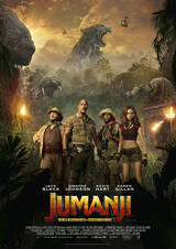 Jumanji: Willkommen im Dschungel - Poster