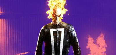 Gabriel Luna als Ghost Rider inAgents of S.H.I.E.L.D