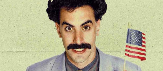 Schmerzhafter Aufprall: Sacha Baron Cohen stößt ...