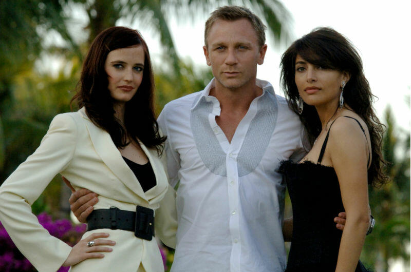 James Bond 007 - Casino Royale mit Daniel Craig und Eva Green