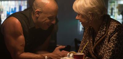 Vin Diesel und Helen Mirren in Fast & Furious 8
