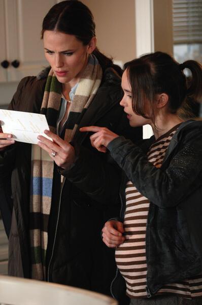 Juno mit Ellen Page und Jennifer Garner