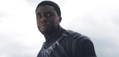 Chadwick Boseman als Black Panther in The First Avenger: Civil War
