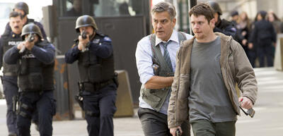 George Clooney und Jack O'Connell in Jodie Fosters Money Monster
