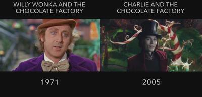 Original und Remake im Vergleich