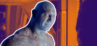 Dave Bautista in Guardians of the Galaxy 2