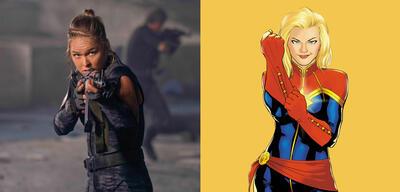 Wird Ronda Rousey Captain Marvel?