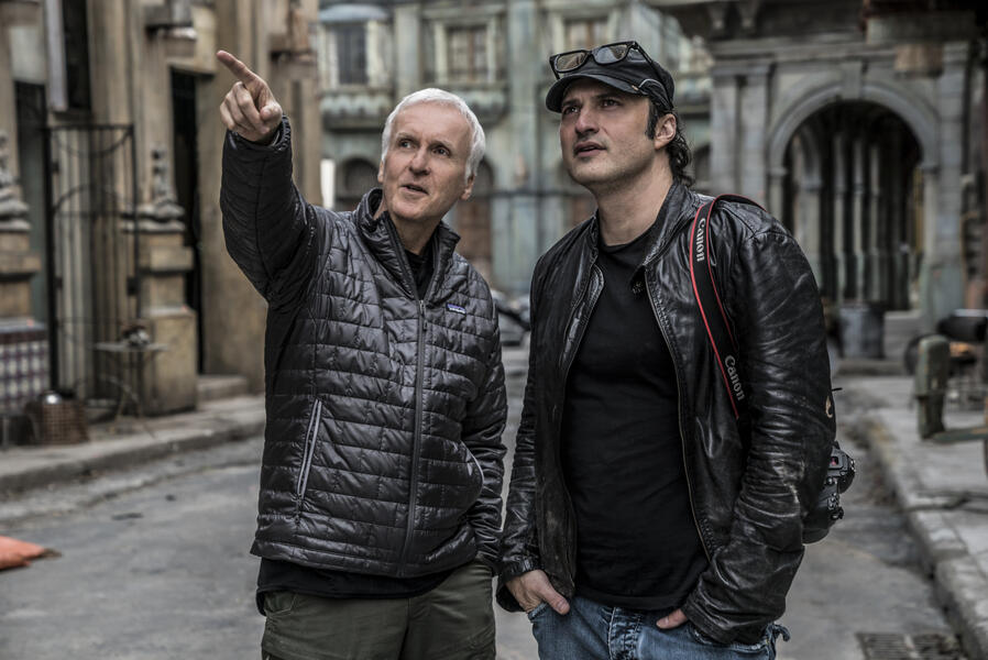 Alita: Battle Angel mit Robert Rodriguez und James Cameron