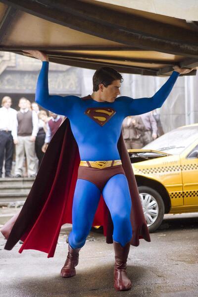 Superman Returns mit Brandon Routh