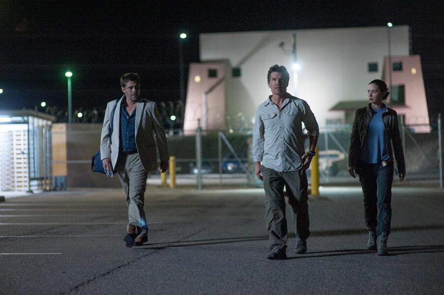 Sicario mit Benicio del Toro, Emily Blunt und Josh Brolin