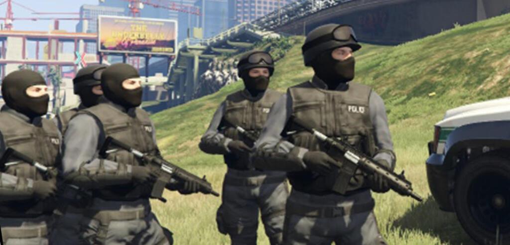 gta 5 polizei swat
