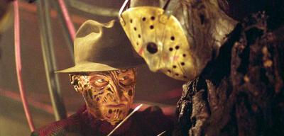 Zwei Horror-Ikonen: Freddy Krueger und Jason Vorhees