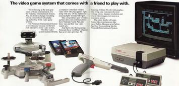 Bild zu:  Das NES samt dem Roboter R.O.B.