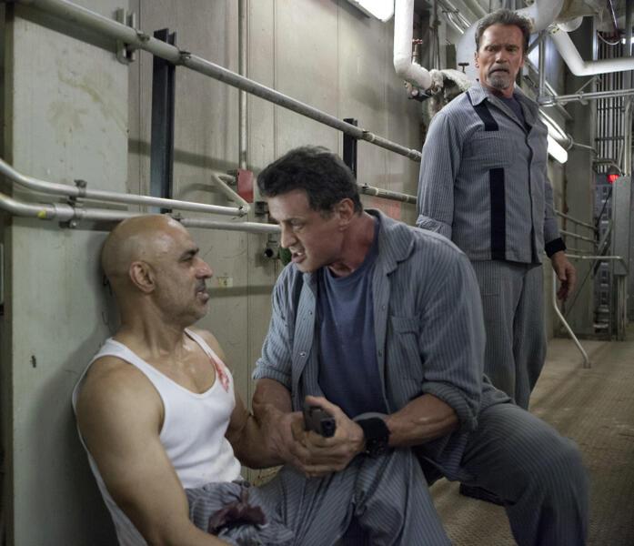Escape Plan mit Arnold Schwarzenegger und Sylvester Stallone
