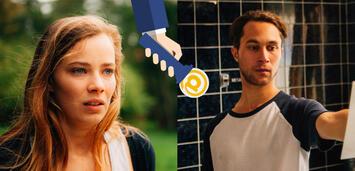 Bild zu:  Saskia Rosendahl und Ludwig Trepte als Susu und Danny in Nirgendwo