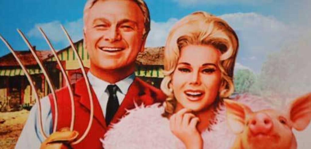 Eddie Albert und Eva Gabor in Green Acres