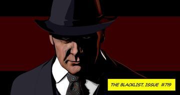 Der animierte James Spader als Reddington in The Blacklist