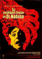 Die unsichtbaren Krallen des Dr. Mabuse - Poster